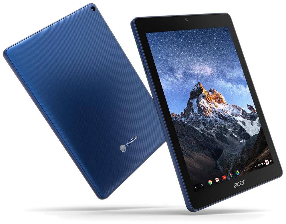 "Acer Chromebook Tab 10 - 9.7"" Tablet ARM Cortex A53 4GB Ram 32GB Flash Chrome OS | D651N-K9WT"