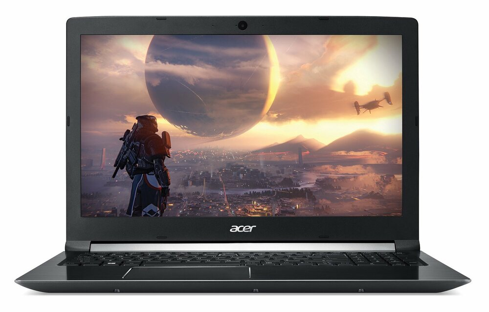 Acer Aspire 7 Laptop Intel Core i7-8750H 2.20GHz 16GB Ram 256GB SSD Win 10 Home | A717-72G-700J