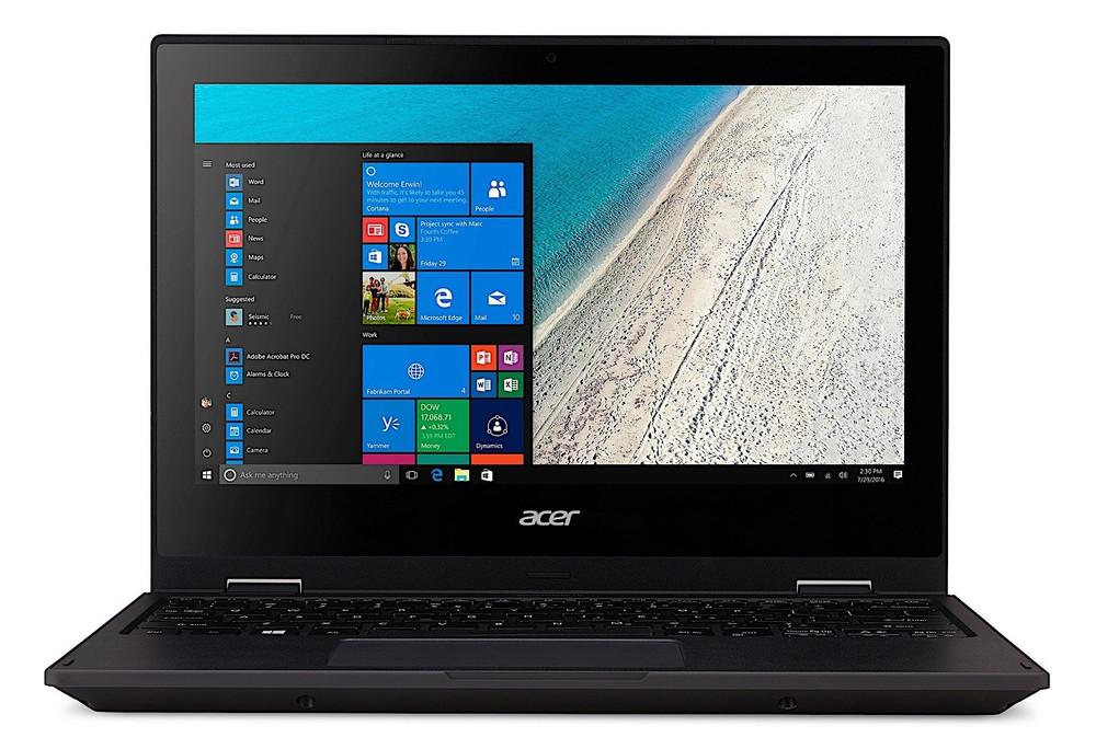 "Acer TravelMate Spin B1 - 11.6"" Laptop Celeron 1.10 GHz 4GB 128 SSD Windows 10 Home   TMB118-RN-C6F3"