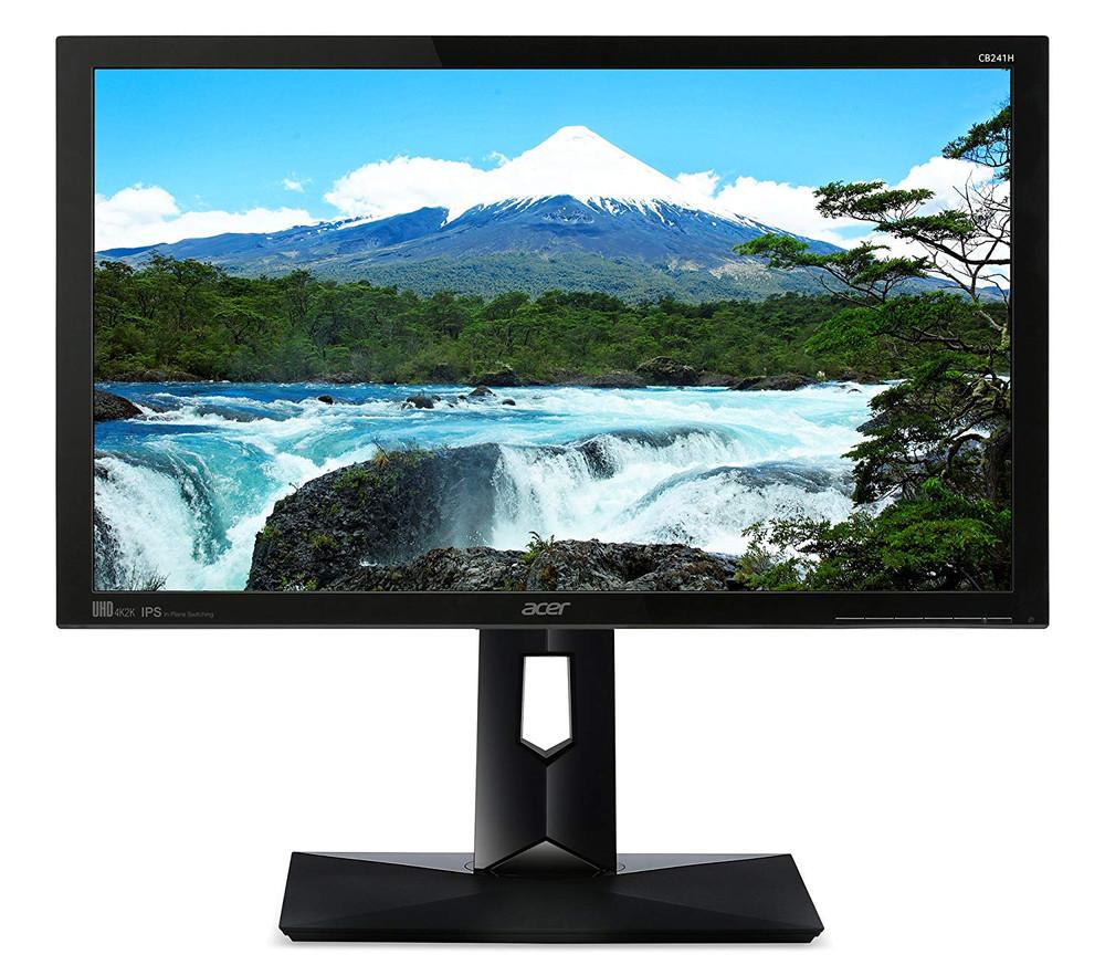 """Acer CB1 - 24"""" Widescreen Monitor 16:9 4ms 4K UHD (3840x2160)   CB241HYK   Scratch & Dent"""