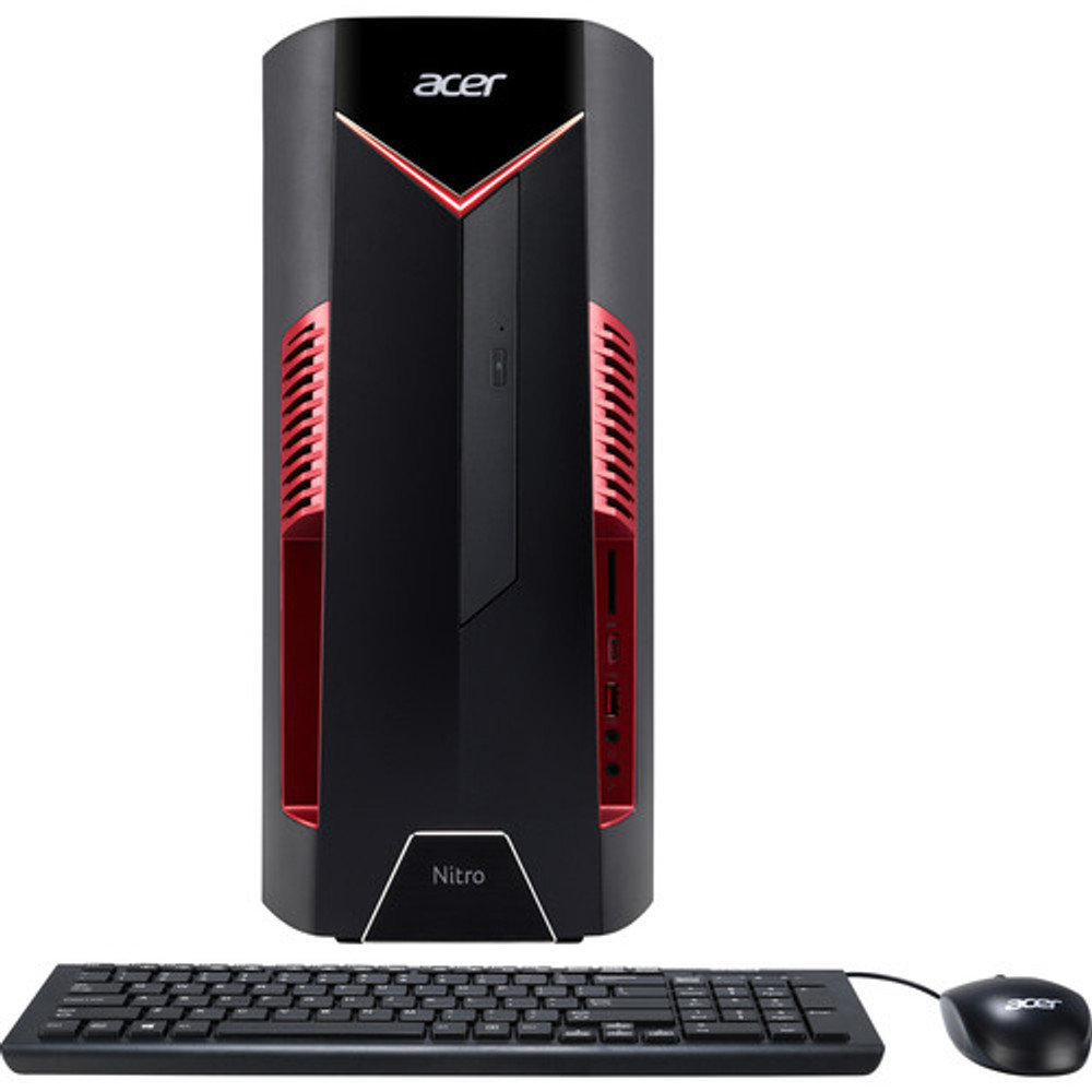 Acer Nitro 50 Desktop AMD Ryzen 5 2500X 3.60GHz - AMD Radeon RX 580 4GB - 8GB Ram 1TB HDD Windows 10 Home | N50-100-UR11