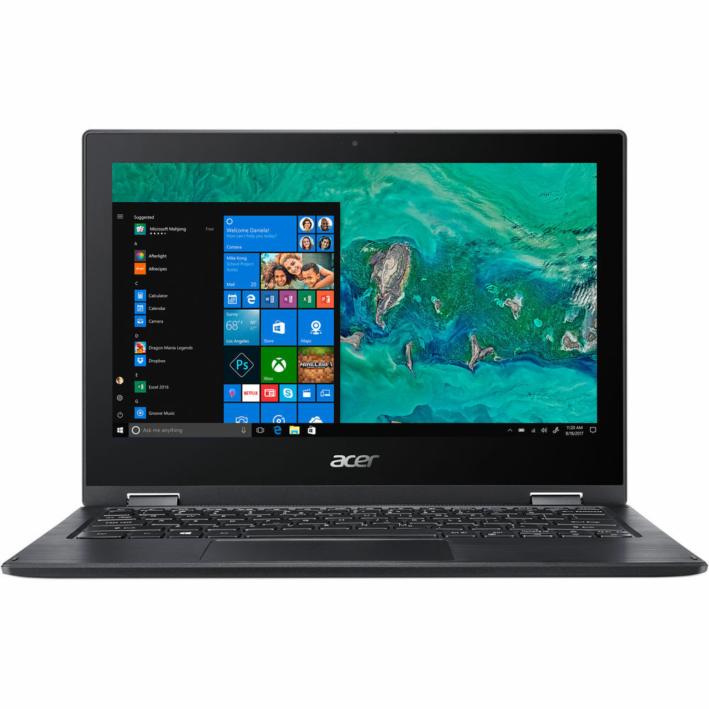"Acer Spin 1 - 11.6"" Laptop Intel Celeron N4000 1.10GHz 4GB Ram 64GB Flash Windows 10 S | SP111-33-C58B"