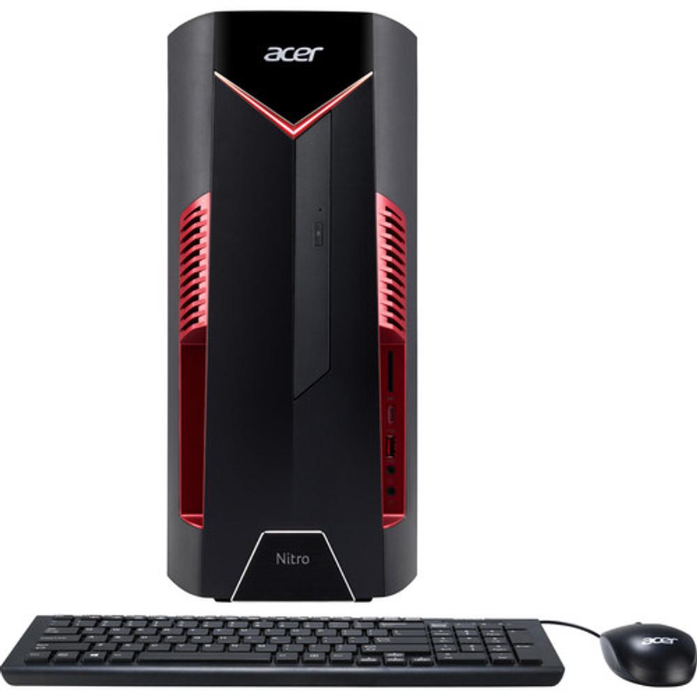 Acer Nitro 50 Desktop Intel i7-8700 3.20GHz - AMD Radeon RX 580 4GB - 8GB Ram 1TB HDD Windows 10 Home | N50-600-NESelecti7RX580 | Scratch & Dent