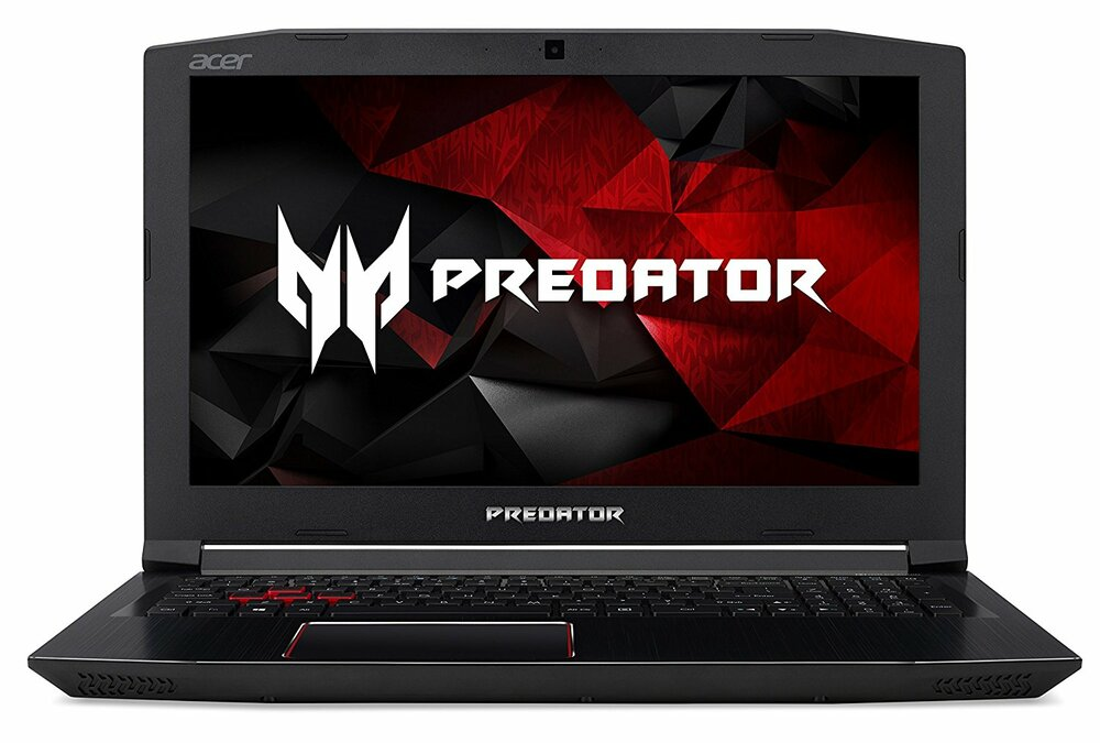 "Acer Predator Helios 300 - 15.6"" Laptop Intel i7-8750H 2.20GHz - NVIDIA GeForce GTX 1060 6GB - 16GB Ram 1TB HDD + 256GB SSD Windows 10 Home 