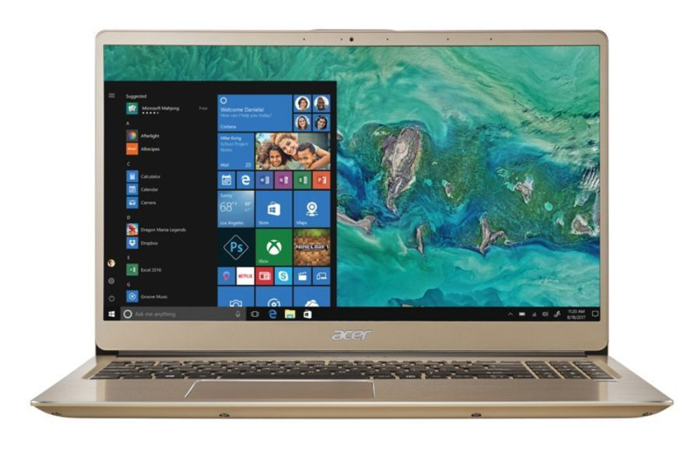 "Acer Swift 3 - 15.6"" Laptop Intel Core i7-8550U 1.80GHz 8GB RAM 256GB SSD Windows 10 Home  