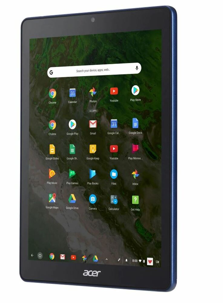 "Acer Tab 10 - 9.7"" Chromebook Tablet ARM Dual-core 4GB Ram 32GB Flash Chrome OS | D651N-K9WT | Scratch & Dent"