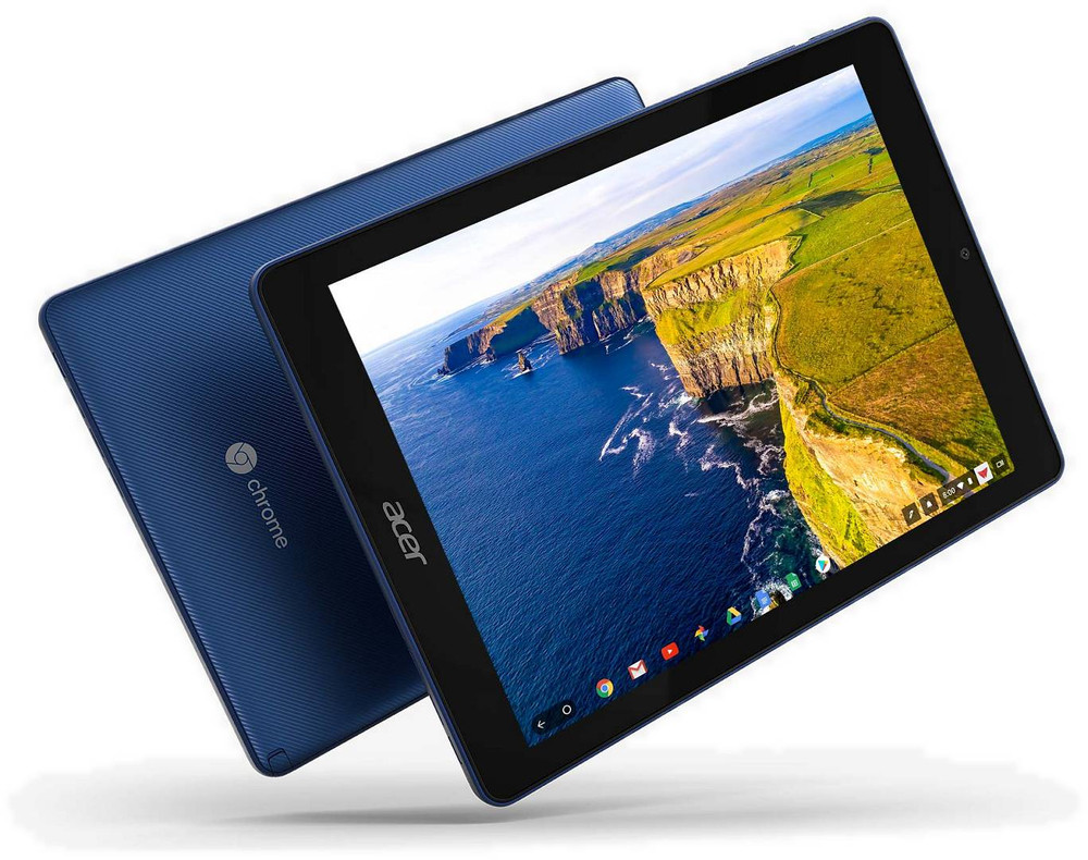 "Acer Tab 10 - 9.7"" Chromebook Tablet ARM Dual-core 4GB Ram 32GB Flash Chrome OS 