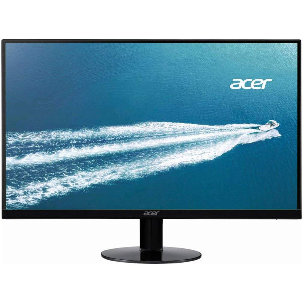 """Acer SAO - 23.8"""" LED Widescreen LCD Monitor Full HD 1920 x 1080 4ms 60Hz 167 Million Colors In-plane Switching (IPS) Technology 