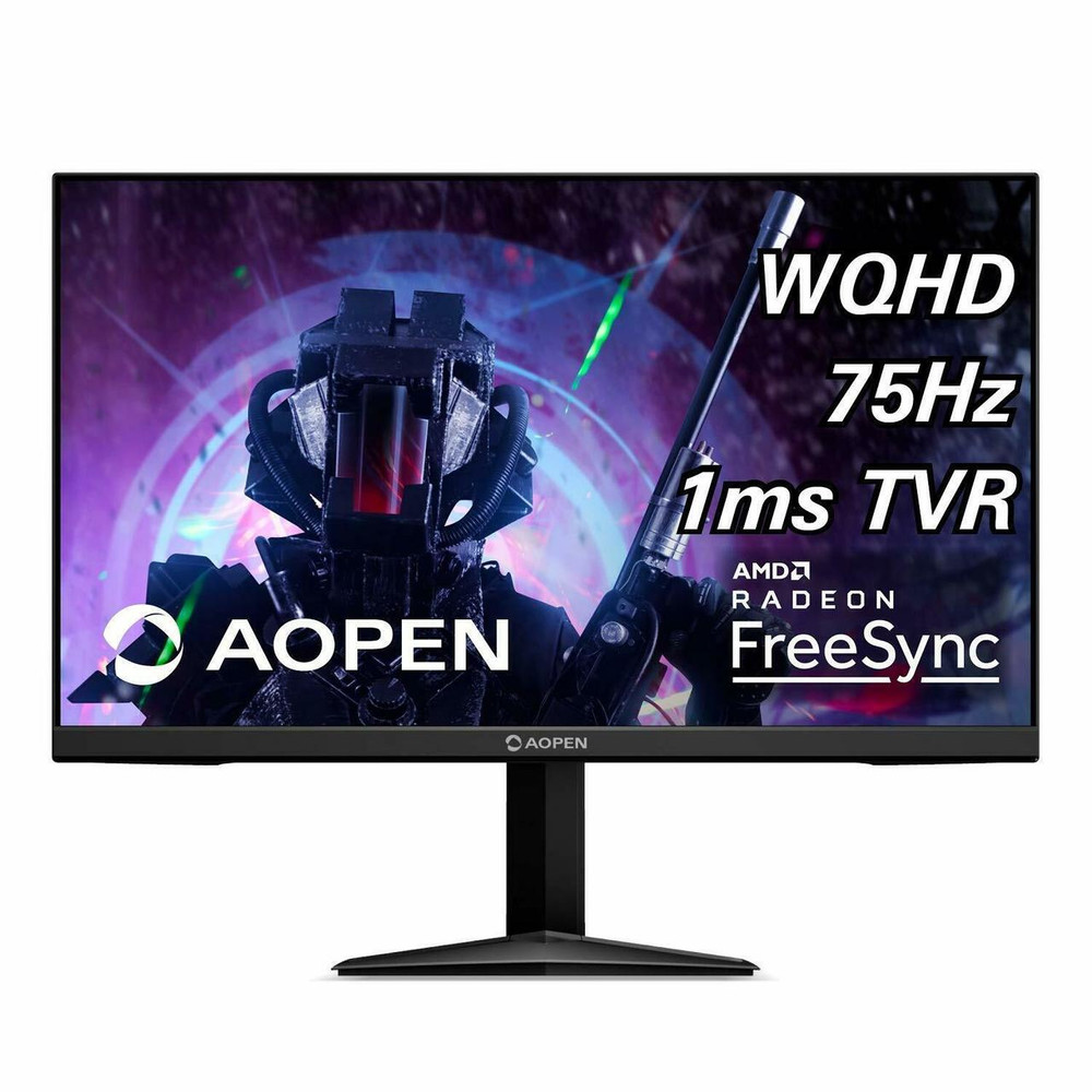 "AOPEN 27ML1U 27"" Widescreen Monitor Display AMD FreeSync WQHD 1560x1440 1ms TVB 120Hz 