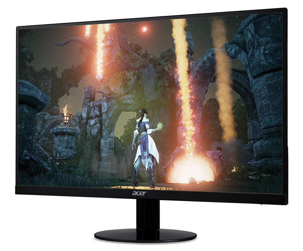 """Acer SB0 - 27"""" LED Widescreen Monitor Full HD 1920 x 1080 1 ms VRB 16:9 75Hz 250 Nit AMD Free Sync In-Plane Switching (IPS) 