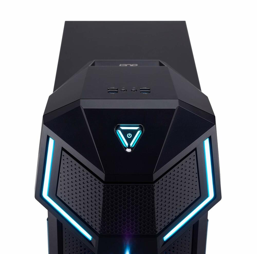 Acer Predator Orion 5000 Desktop Intel Core i7-8700K 3.70GHz - NVIDIA GeForce GTX 1070 - 16GB Ram 512GB SSD Windows 10 Home   PO5-610-UR13   New Open Box