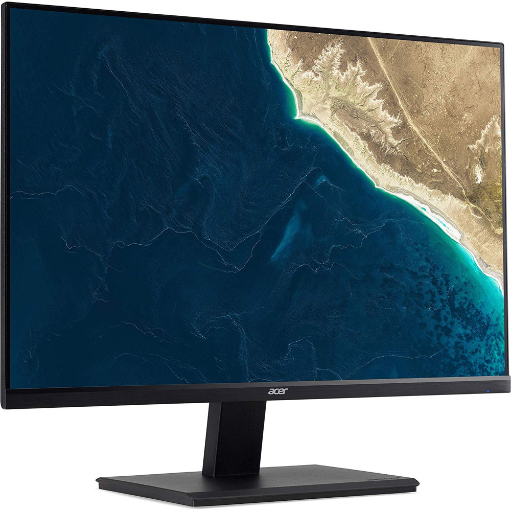 "Acer V7 - 23.8"" Widescreen LCD Monitor Full HD 1920x1080 4ms 75 Hz 250 Nit Adaptive Sync In-plane Switching (IPS) Technology 