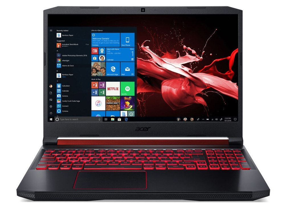 "Acer Nitro 5 - 15.6"" Laptop Intel i5-9300H 2.4GHz - NVIDIA GeForce GTX 1050 3GB - 8GB Ram 256GB SSD Windows 10 Home 