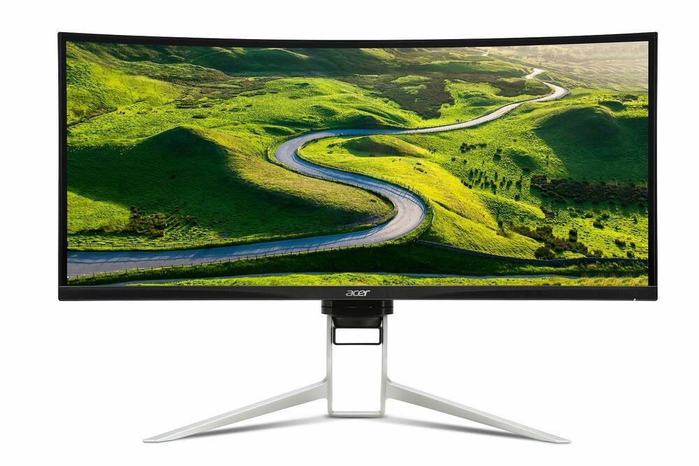 "Acer XR - 34"" Curved Widescreen LCD Monitor Display 3440x1440 1 ms 