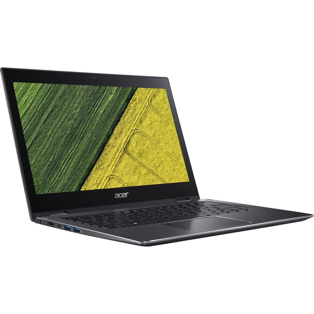 "Acer Spin 5 - 13.3"" Laptop Intel i5-8250U 1.60GHz 8GB Ram 256GB SSD Windows 10 Home   SP513-52N-530R   New Open Box"