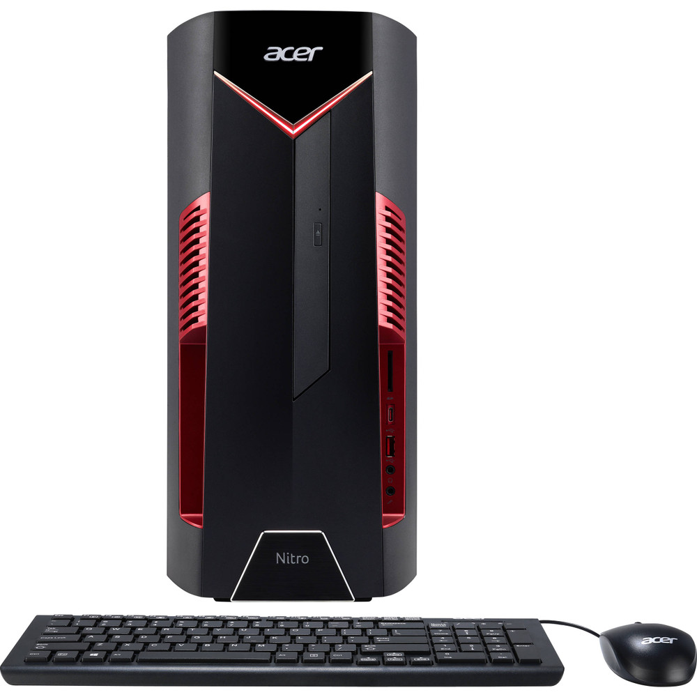 Acer Nitro 50 Desktop Intel Core i7-8700 3.20 GHz 16GB Ram 256GB SSD Windows 10 Home | N50-600-UD13