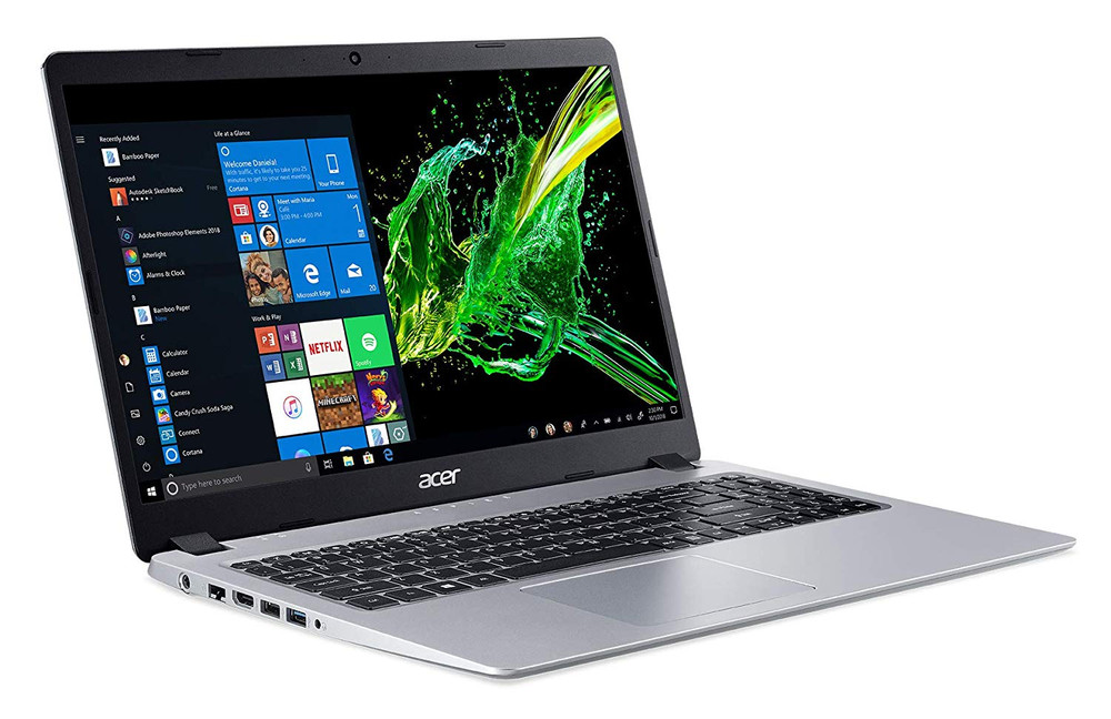 "Acer Aspire 5 - 15.6"" Laptop AMD Ryzen 3 3200U 2.60 GHz 4 GB Ram 128GB SSD Windows 10 Home 