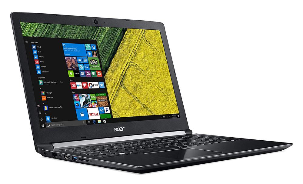 """Acer Aspire 5 - 15.6"""" Laptop Intel Core i5-7200U 2.50GHz 8GB Ram 500GB HDD 128 SDD Windows 10 Home   A515-51-50XZ"""