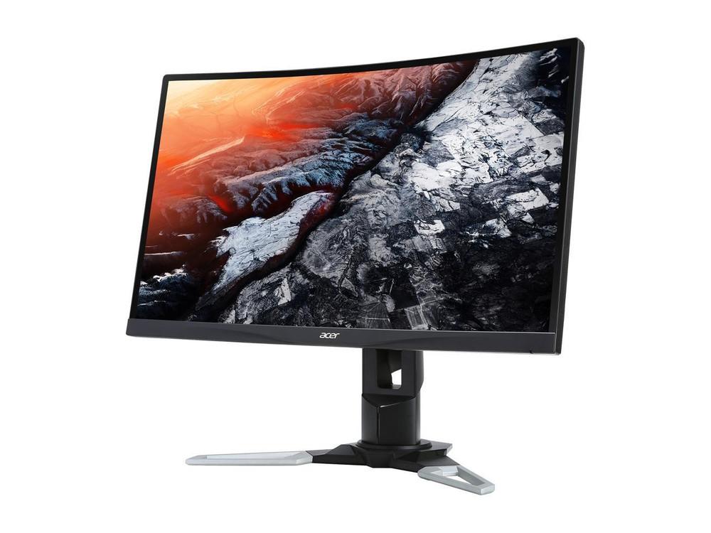 "Acer XZ - 27"" Gaming Monitor FHD 1920 x 1080 1 ms MPRT 144Hz 250 Nit AMD Free-Sync Vertical Alignment (VA)   XZ271 Abmiiphzx"