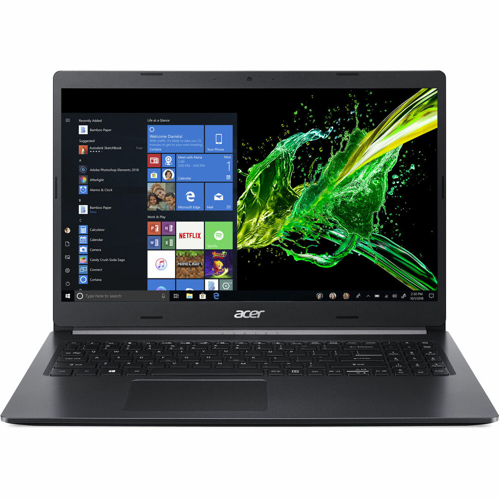 "Acer Aspire 5 - 15.6"" Intel Core i3-8145U 2.10 Ghz 4GB Ram 128GB SSD Windows 10 Home   A515-54-30BQ"