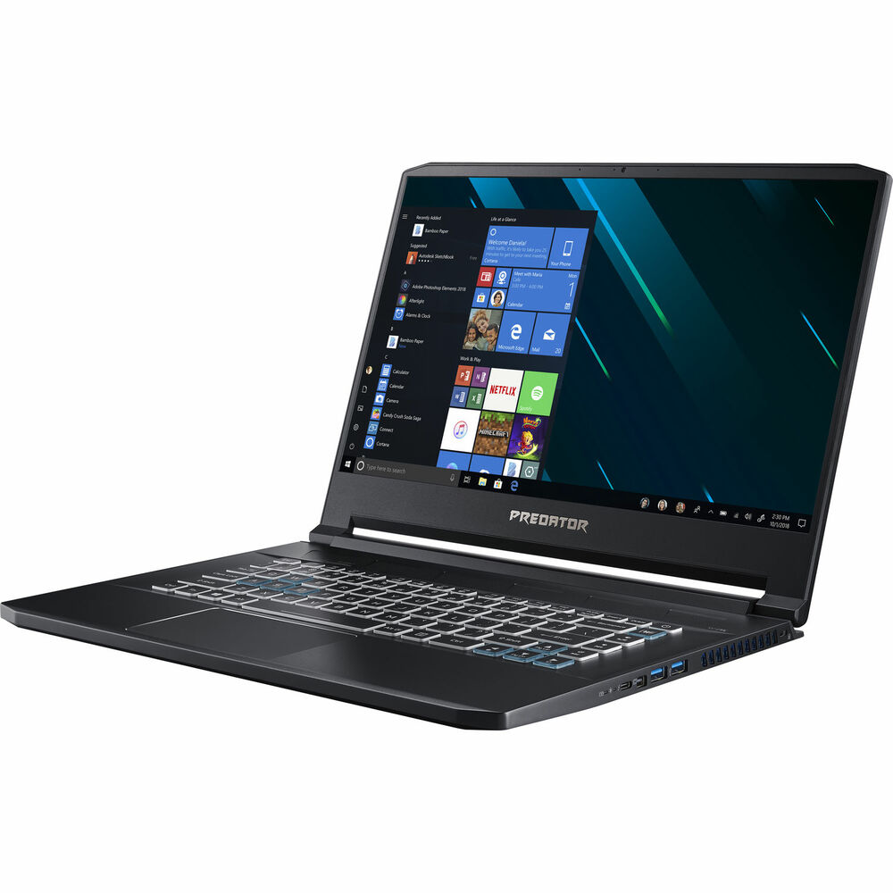 "Acer Predator Triton 500 - 15.6"" Laptop Intel Core i7-9750H 2.6GHz - NVIDIA GeForce RTX 2060 - 16GB Ram 512GB SSD Windows 10 Home   PT515-51-75BH"