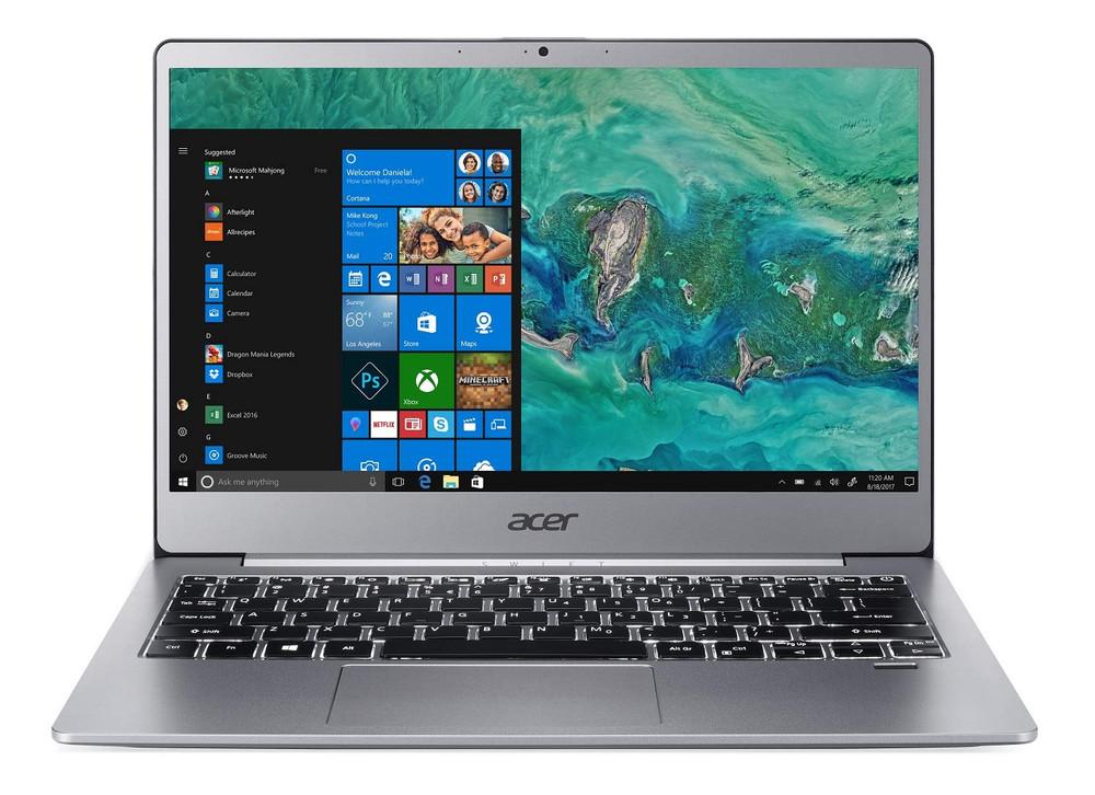 "Acer Swift 3 -13.3"" Laptop Intel Core i5-8250U 1.60GHz 8 GB Ram 256 GB SSD Windows 10 Home | SF313-51-50WL"