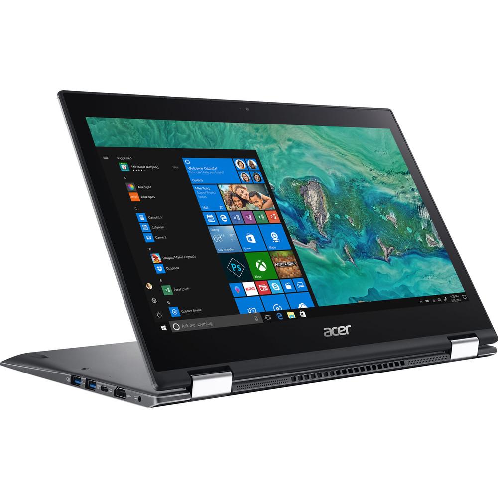 "Acer Spin 5 - 13.3"" Laptop Intel Core i7-8565U 1.80GHz 16GB Ram 512GB SSD Windows 10 Home | SP513-53N-76ZK"