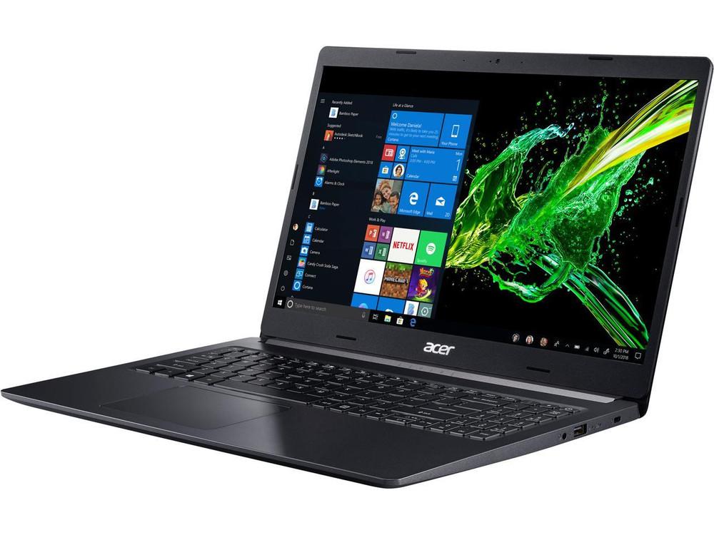 "Acer Aspire 5 - 15.6"" Laptop Intel Core i5 8265U 1.60 GHz 8GB RAM 512GB SSD Windows 10 Home   A515-54G-54QQ"