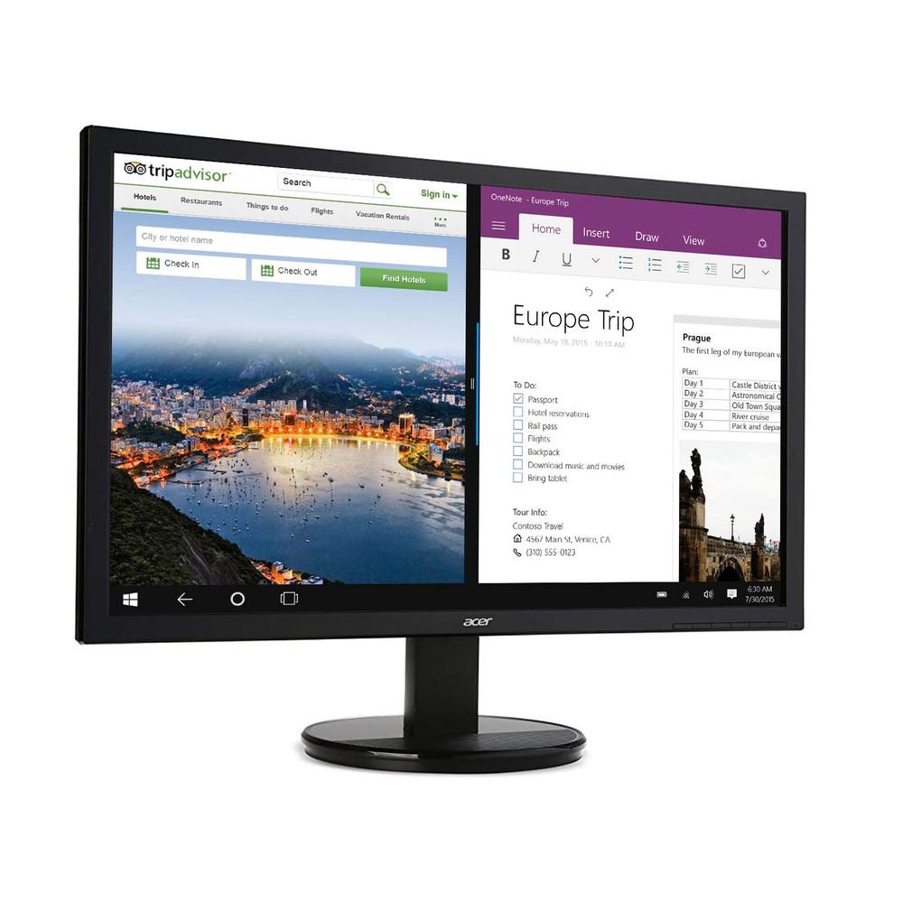 "Acer K2 - 19.5"" Monitor Display HD 1366 x 768 5 ms | K202HQL Abi"