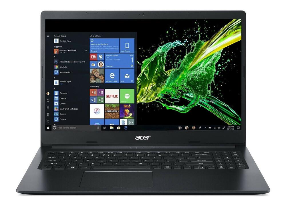 "Acer Aspire 1 15.6"" Laptop Intel Celeron N4000 1.1GHz 4GB Ram 64GB Flash Windows 10 Home S | A115-31-C23T"