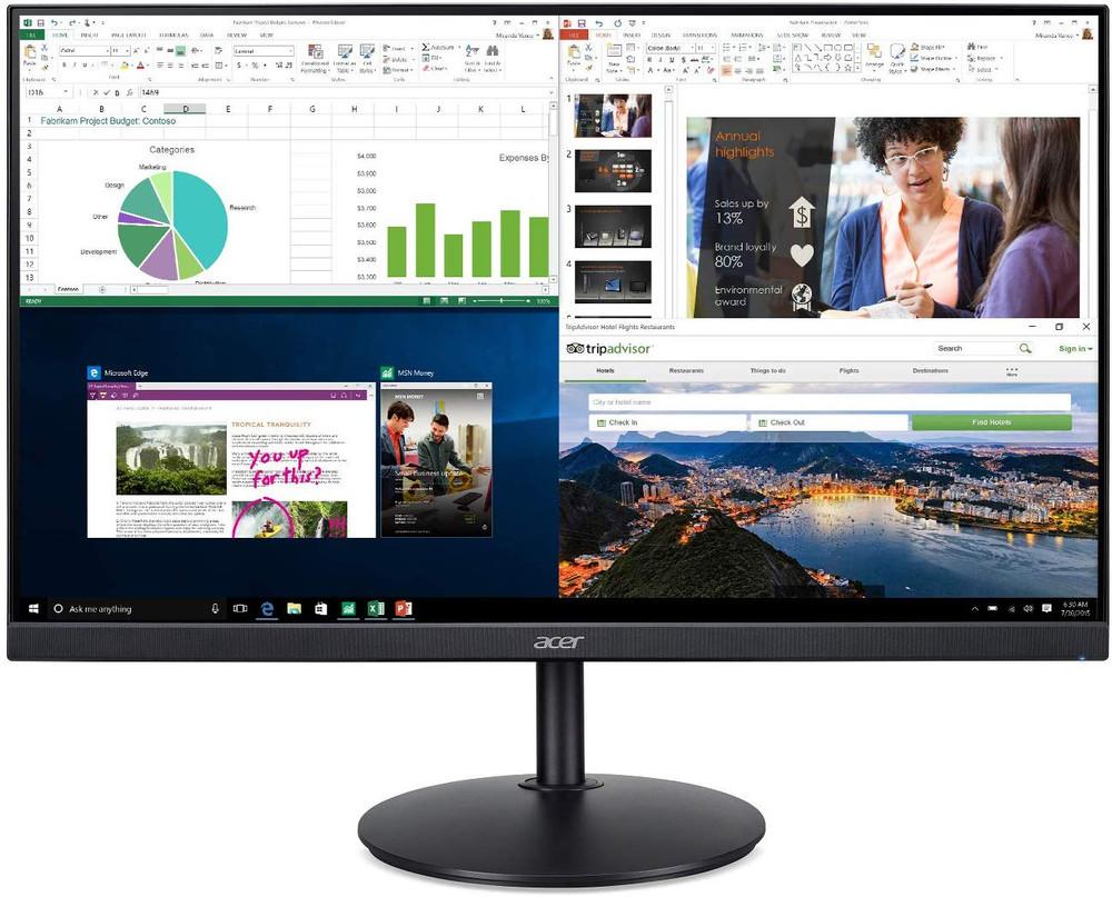 "Acer CB2 - 27"" Widescreen Monitor Display 1920x1080 75 Hz 16:9 1ms VRB 250 Nit   CB272"