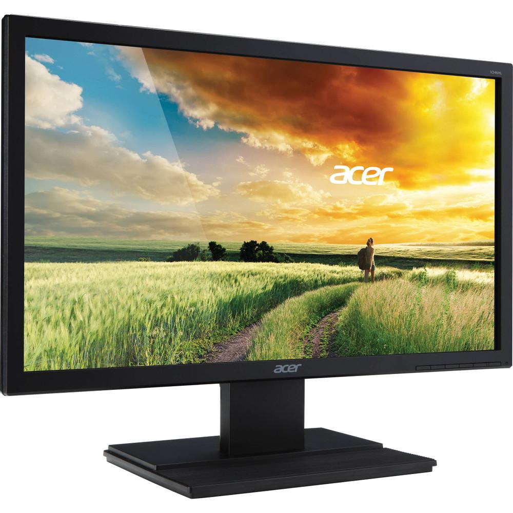 "Acer V246HQL - 23.6"" Widescreen Monitor 1920x1080 60Hz 16:9 5ms GTG 250 Nit | V246HQL"