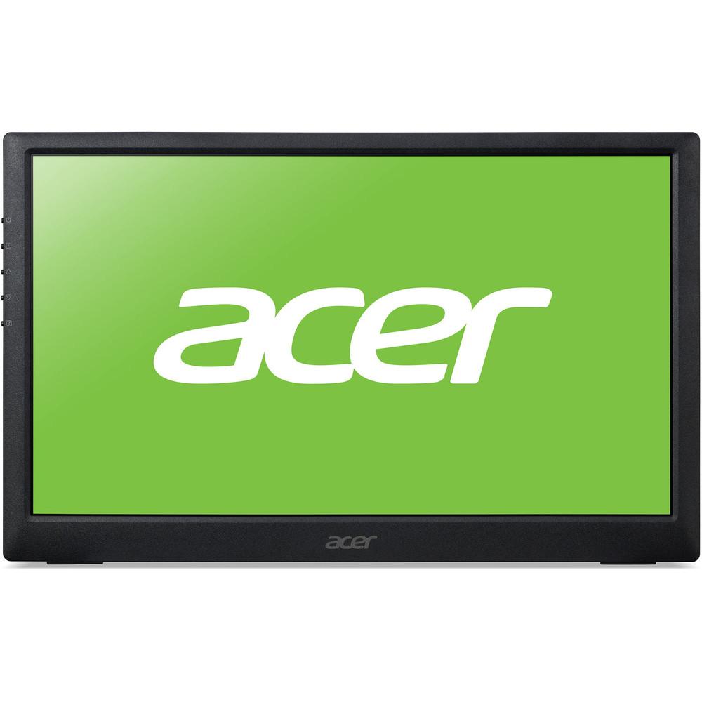 "Acer PM1 - 15.6"" Monitor Display 1920x1080 60 Hz 16:9 15ms GTG 250 Nit   PM161Q bu"