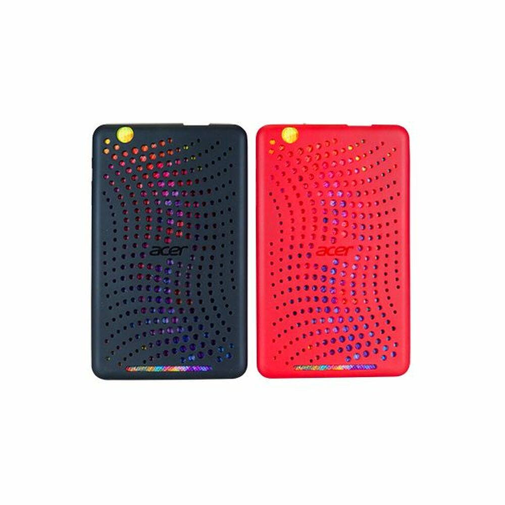 Acer B1-810 Tablet Bumper Case (Black & Red) | B1-810