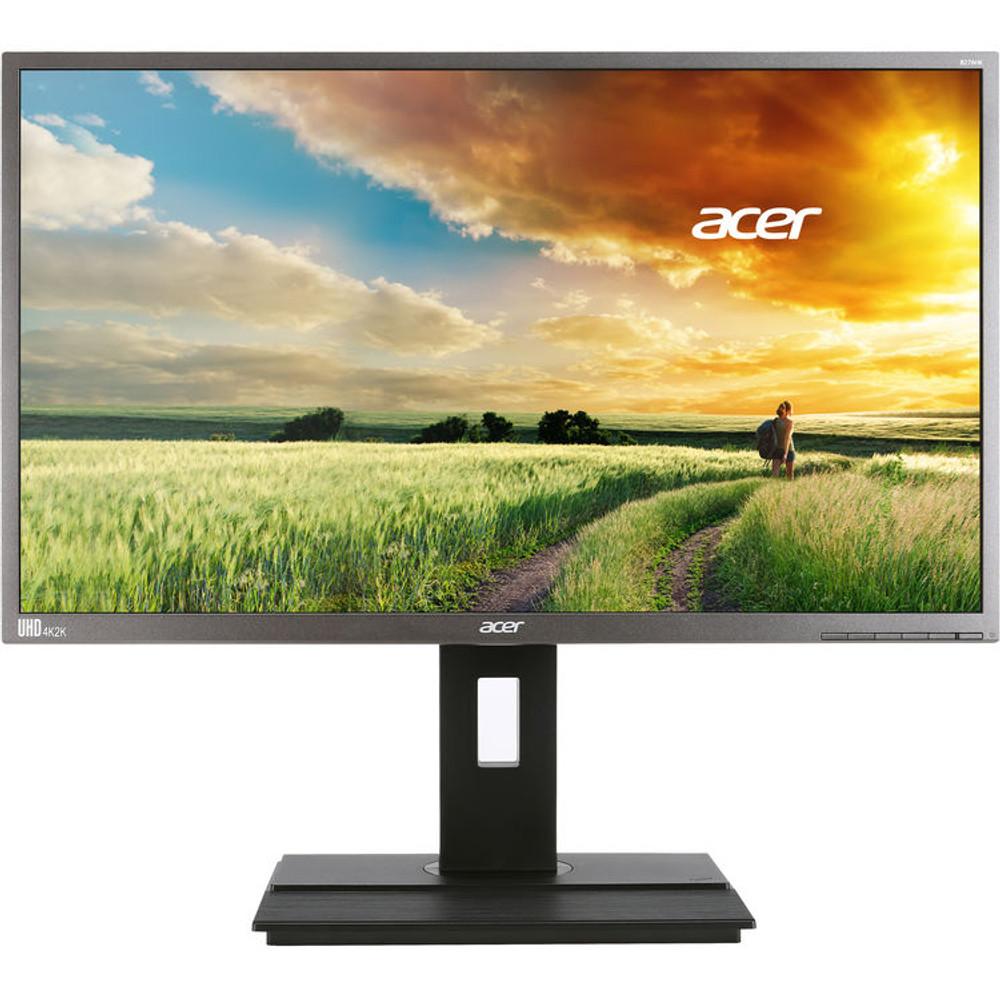 "Acer B6 27"" Widescreen Monitor Display 4K UHD (3840 x 2160) 5 ms GTG | B276HK Bymjdpprzx | Scratch & Dent"