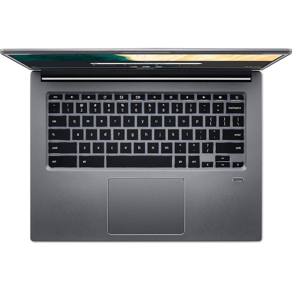 "Acer Chromebook 714 - 14"" Intel Core i3-8130U 2.20GHz 8GB Ram 64GB Flash Chrome OS   CB714-1WT-32KD"