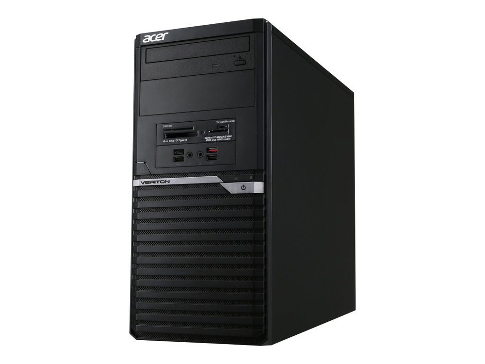 Acer Veriton M4 Desktop Intel Core i7-8700 3.2GHz 8GB Ram 1TB HDD Windows 10 Pro | VM4660G-I7870H1