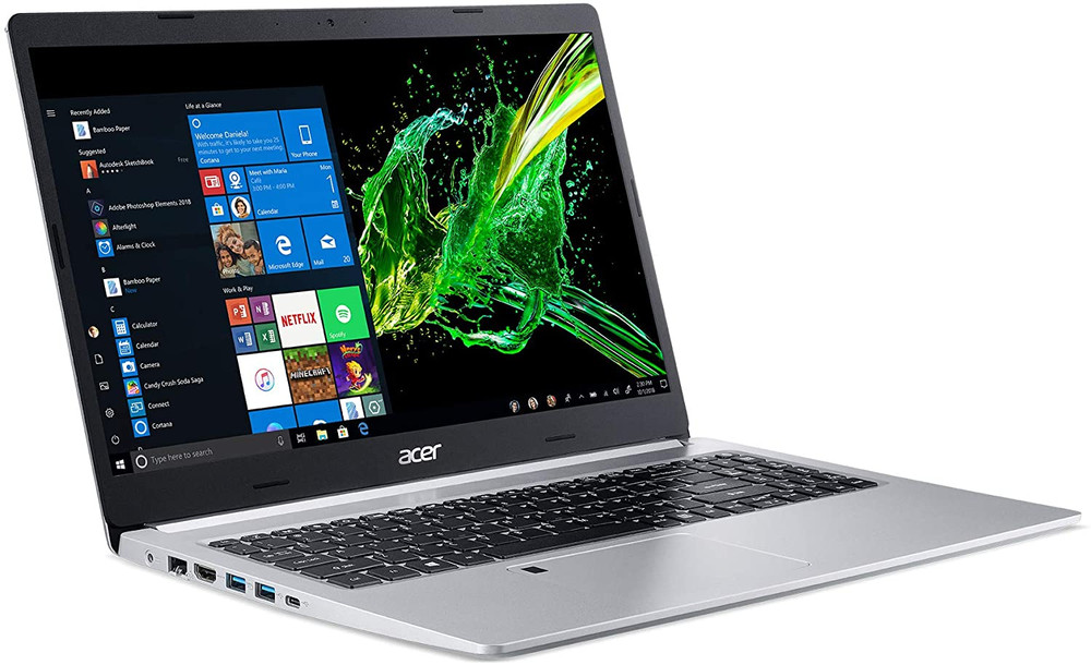 "Acer Aspire 5 - 15.6"" AMD Ryzen 3200U 2.6GHz 4GB Ram 128GB SSD Windows 10 Home 