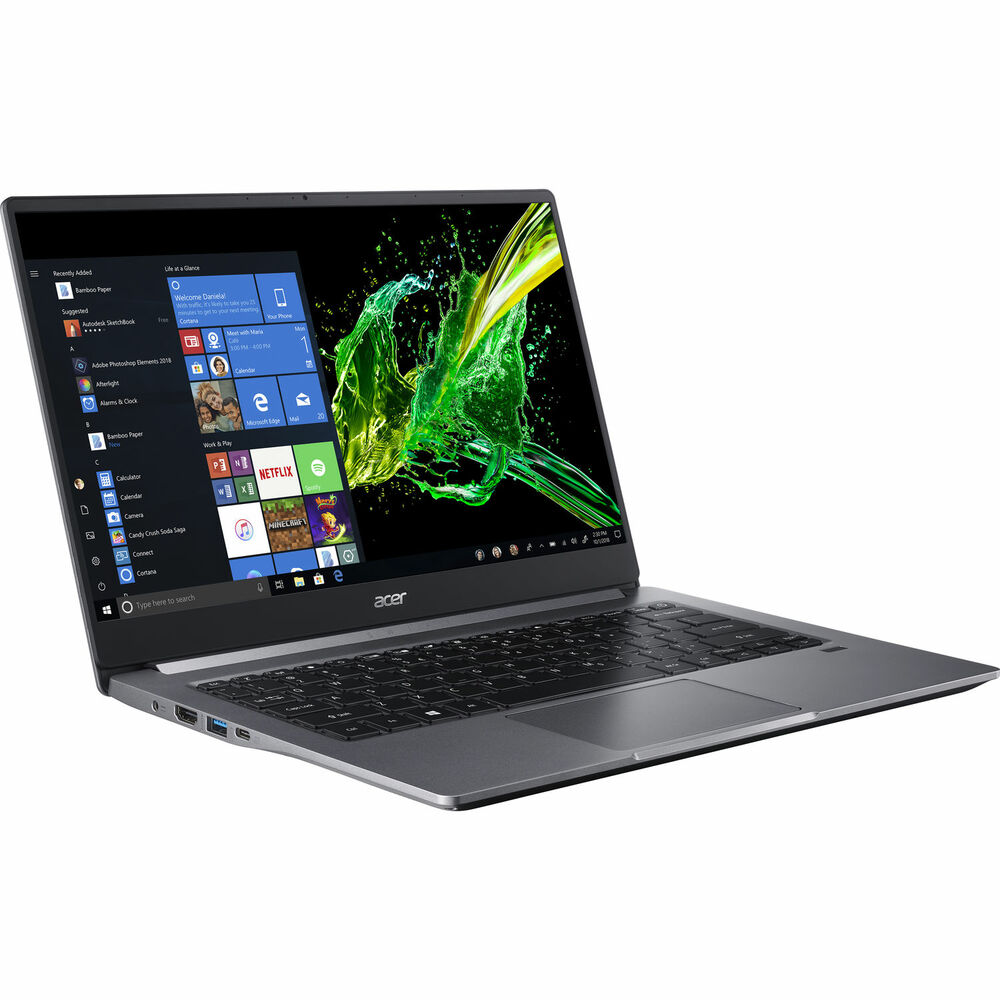 "Acer Swift 3 - 14"" Laptop Intel Core i5-1035G1 1GHz 8GB Ram 512GB SSD Windows 10 Home   SF314-57-57BN   Scratch & Dent"