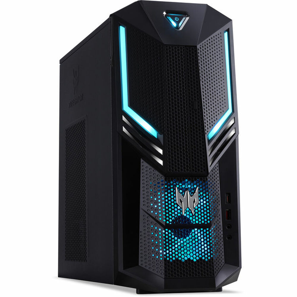 Acer Predator PC Intel Core i7-9700 3GHz 32GB Ram 2TB HDD + 1TB SSD Windows 10 Pro   PO3-600-UD19