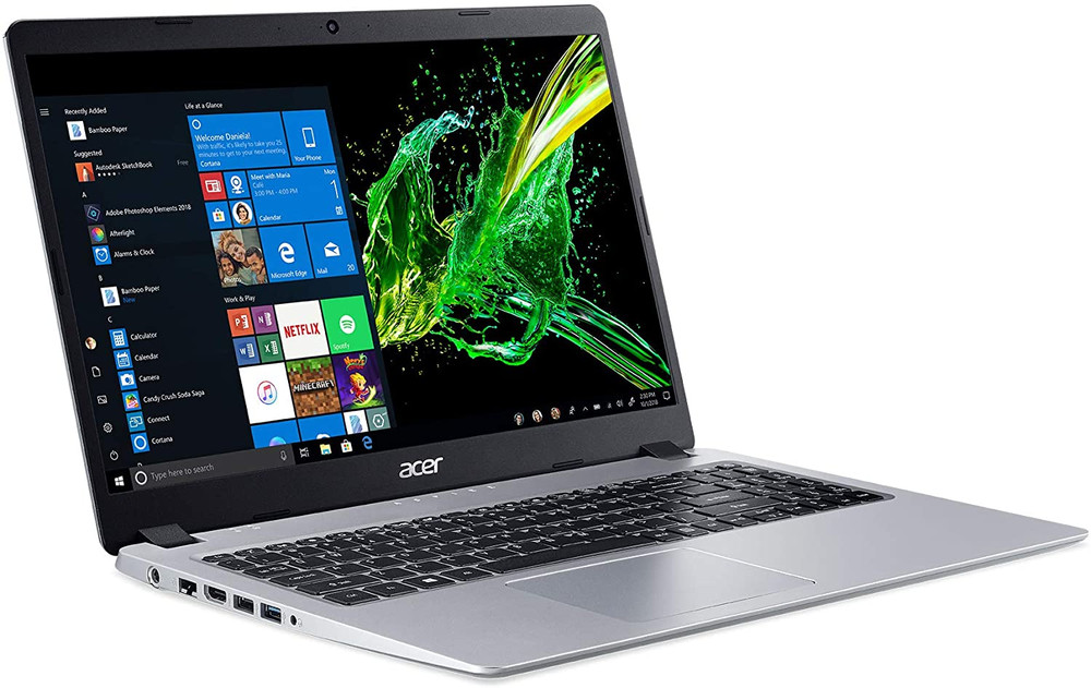"Acer 15.6"" Laptop AMD Ryzen 5 3500U 2.1GHz 8GB Ram 512GB SSD Windows 10 Home  