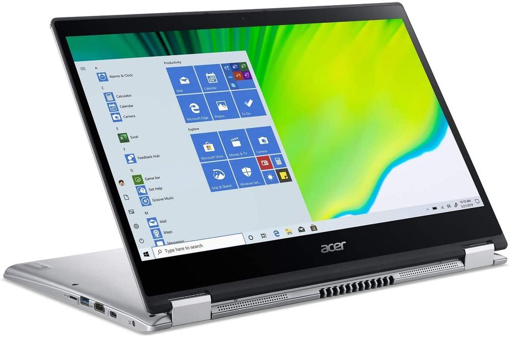 "Acer Spin 3 - 14"" Laptop Intel Core i5-1035G1 1GHz 8GB Ram 256GB SSD Windows 10 Home   SP314-54N-58Q7"