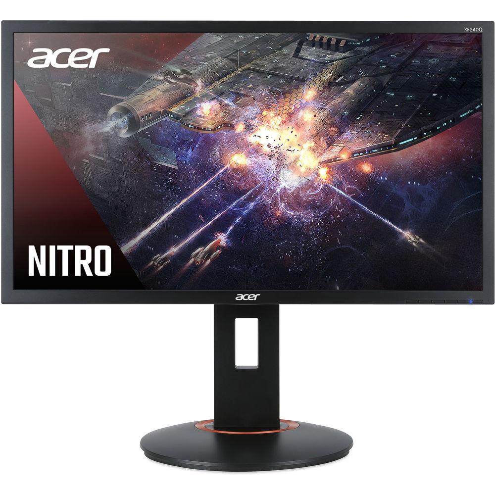 "Acer XF - 23.6"" Monitor Full HD 1920x1080 144Hz TN 16:9 1ms 300Nit HDMI | XF240Q Sbiipr"