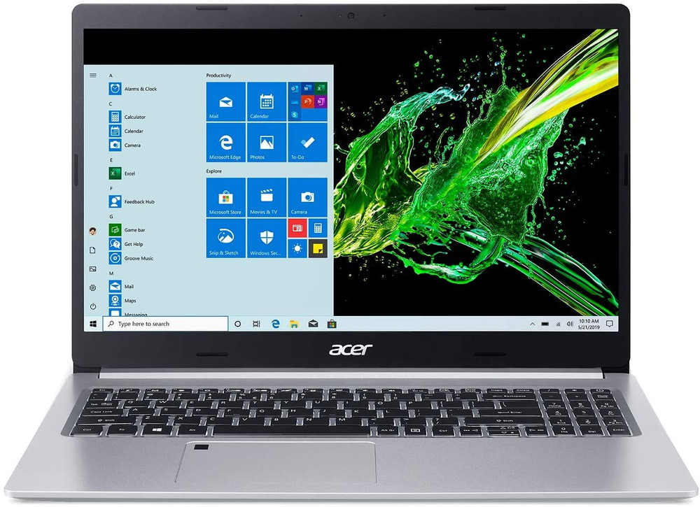 "Acer Aspire 5 - 15.6"" Laptop Intel Core i3-1005G1 1.2GHz 4GB Ram 128GB SSD Windows 10 Home S 