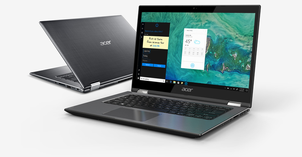"Acer Spin 3 - 14"" Laptop ntel Core i5-8250U 1.6GHz 4GB Ram 1TB HDD Windows 10 Home | SP314-51-52AS"