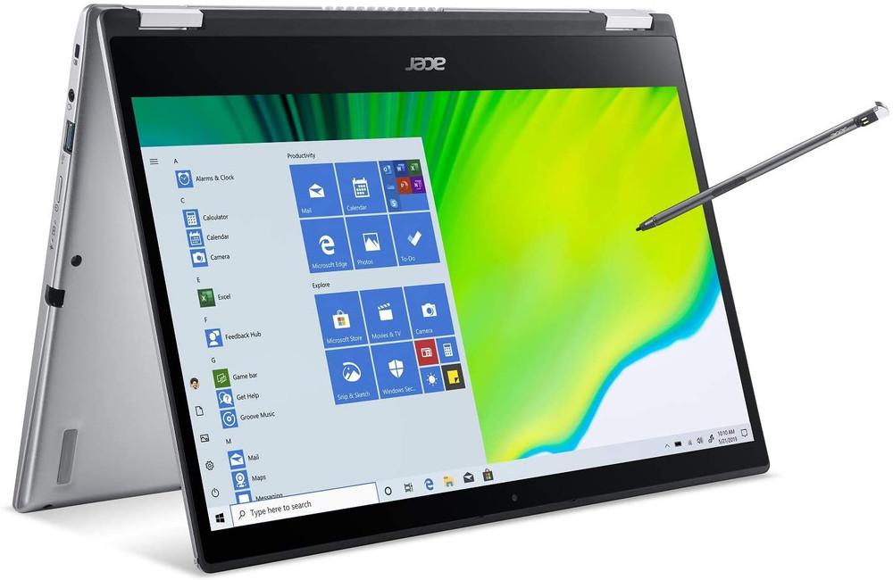 "Acer Spin 3 - 14"" Intel Core i5-1035G4 1.1GHz 8GB Ram 512GB SSD Windows 10 Home | SP314-54N-50W3 | Scratch & Dent"