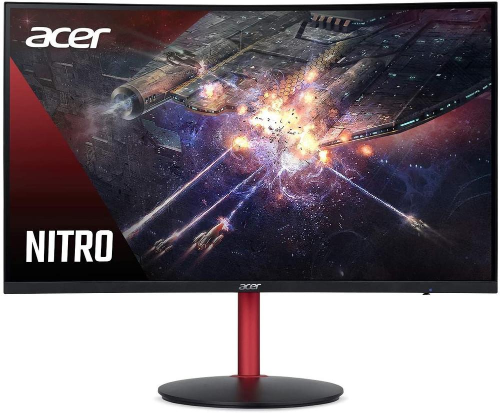 """Acer Nitro XZ2 - 23.6"""" Monitor Full HD 1920x1080 144Hz VA 16:9 4ms 400Nit    XZ242Q Pbmiiphx"""