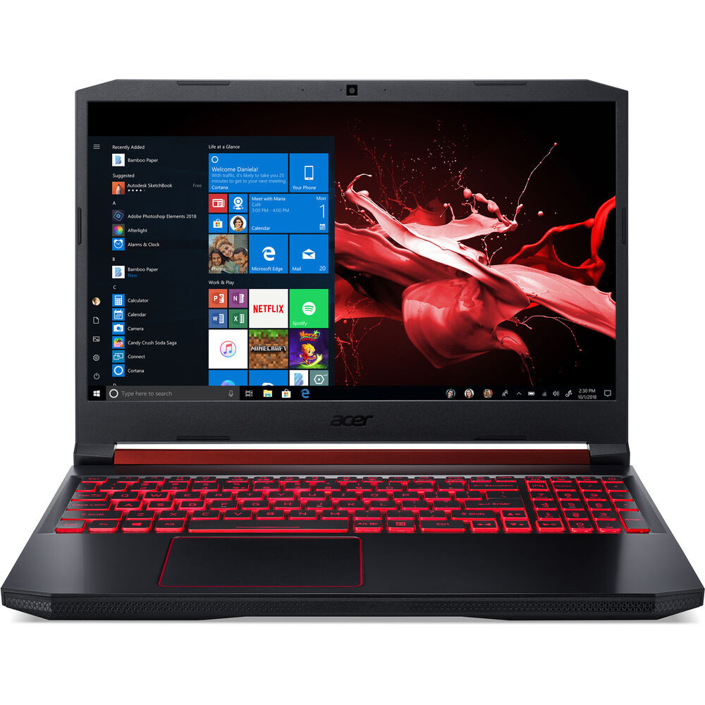 "Acer Nitro 5 - 15.6"" Intel Core i5-9300H 2.4GHz 16GB Ram 1TB HDD 256GB SSD Windows 10 Home 