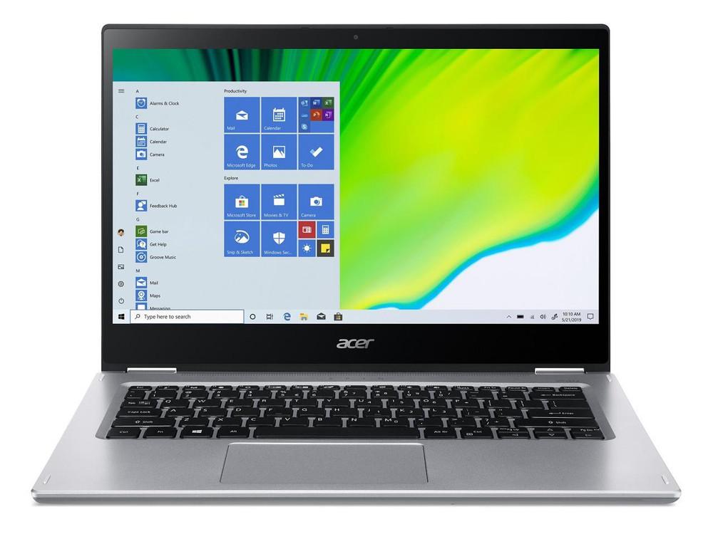 "Acer Spin 3 - 14"" Laptop Intel Core i7-1065G7 1.3GHz 8GB Ram 512GB SSD Windows 10 Home | SP314-54N-77L5 | Scratch & Dent"