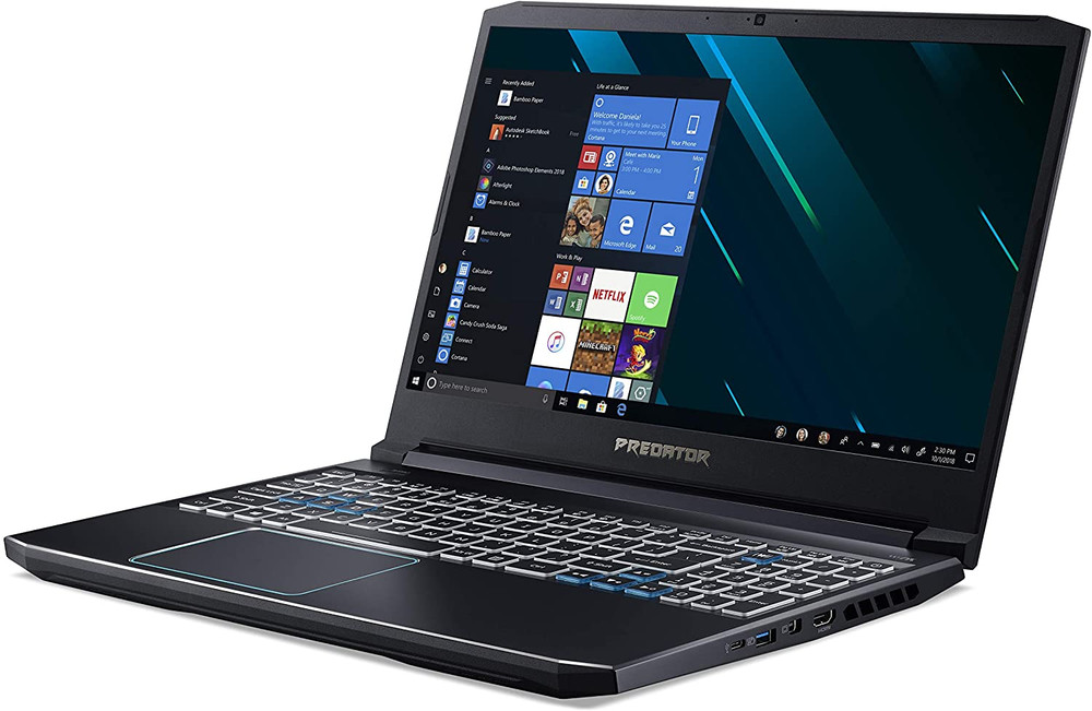 "Acer Predator Helios 300 - 15.6"" Laptop Intel Core i7-9750H 2.60GHz 16GB Ram 512GB SSD Windows 10 Home   PH315-52-72EV   Scratch & Dent"